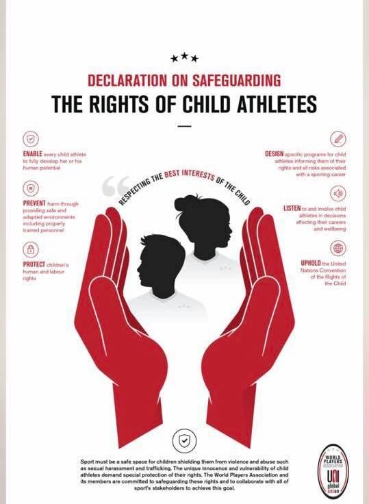 Drepturile Copiilor la Securitate in Practicarea Activitatilor Sportive